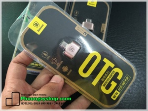 Cáp OTG cổng micro USB hiệu Basues (BH 1 tháng)
